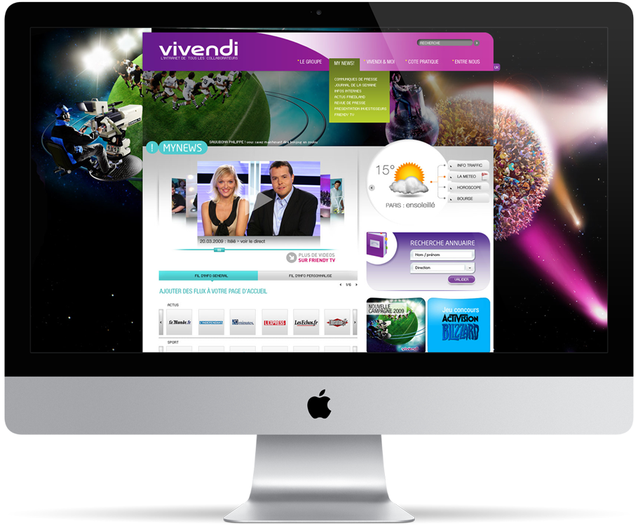 Vivendi intranet
